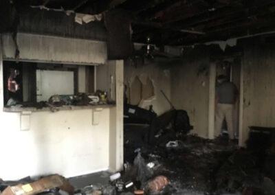 Inside House Smoke Damage