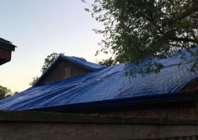 Entire Roof Tarp by Dryman
